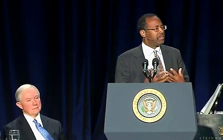 Ben Carson Speech at the 2013 National Prayer Breakast Transcript
