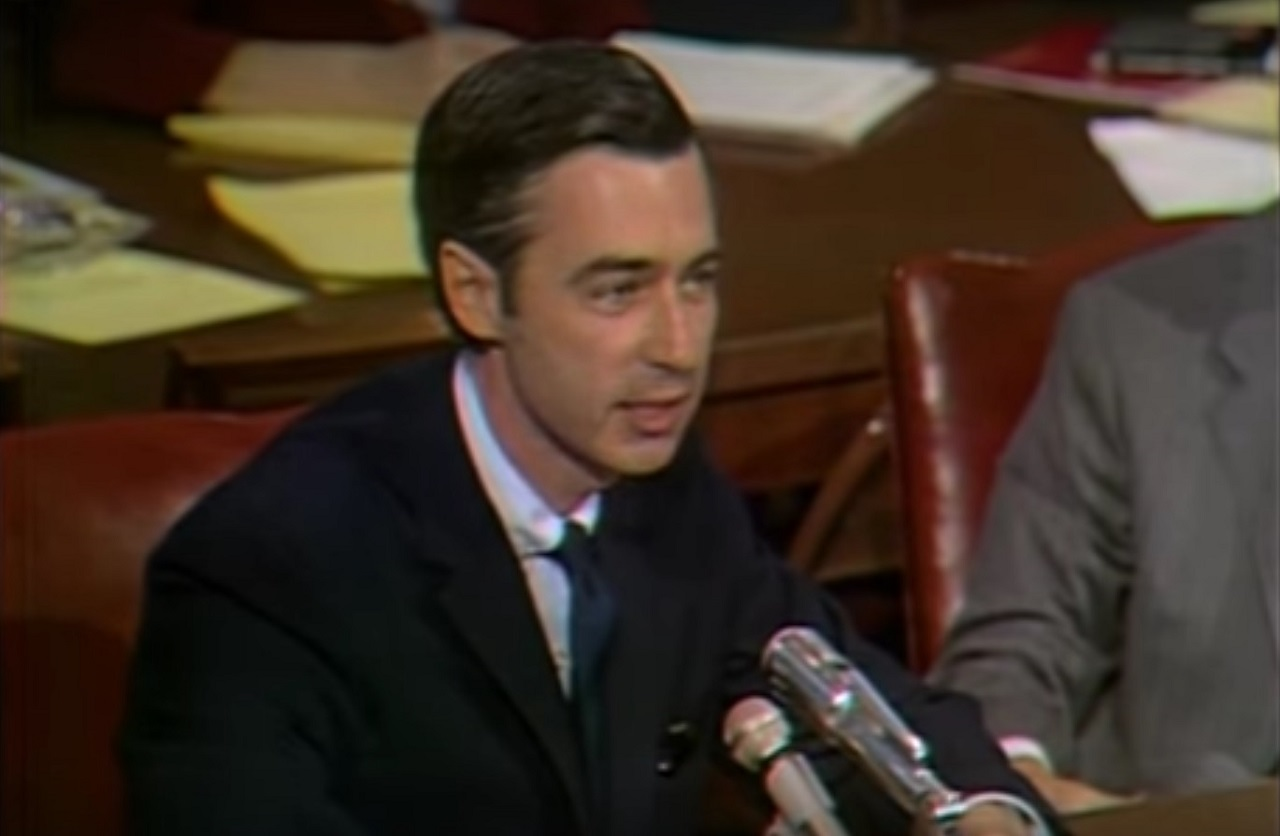 American Rhetoric Mr Rogers Testimony Before The U S Senate On Funding For Pbs